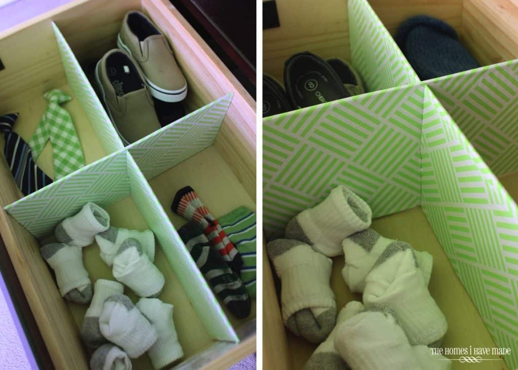 DIY Cardboard Drawer Organizers