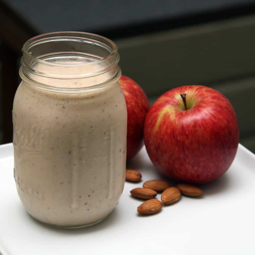 Smoothie Recipes To Boost Your Fruit & Veg Intake - Apple Banana Cinnamon Smoothie
