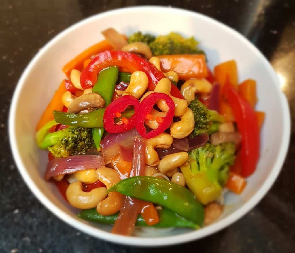 Only One Small Thing - This Easy Cashew Nut Stir Fry - Bowl