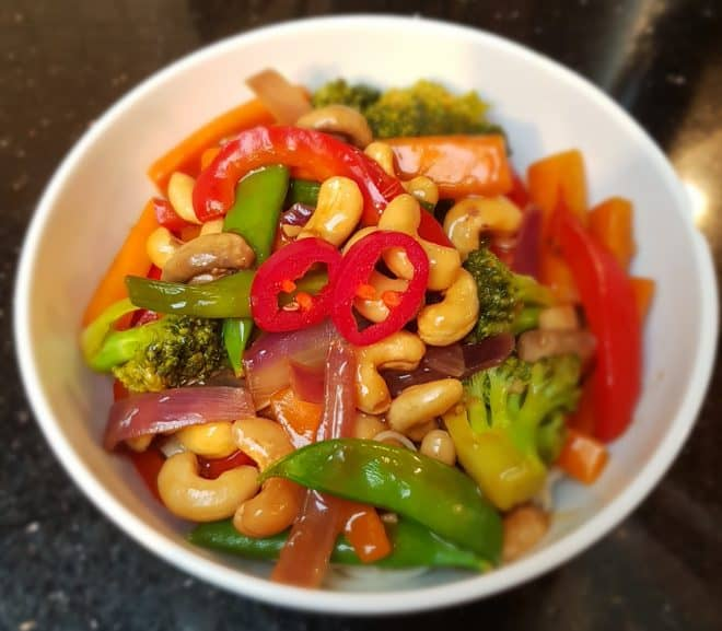 Easy Cashew Nut Stir Fry