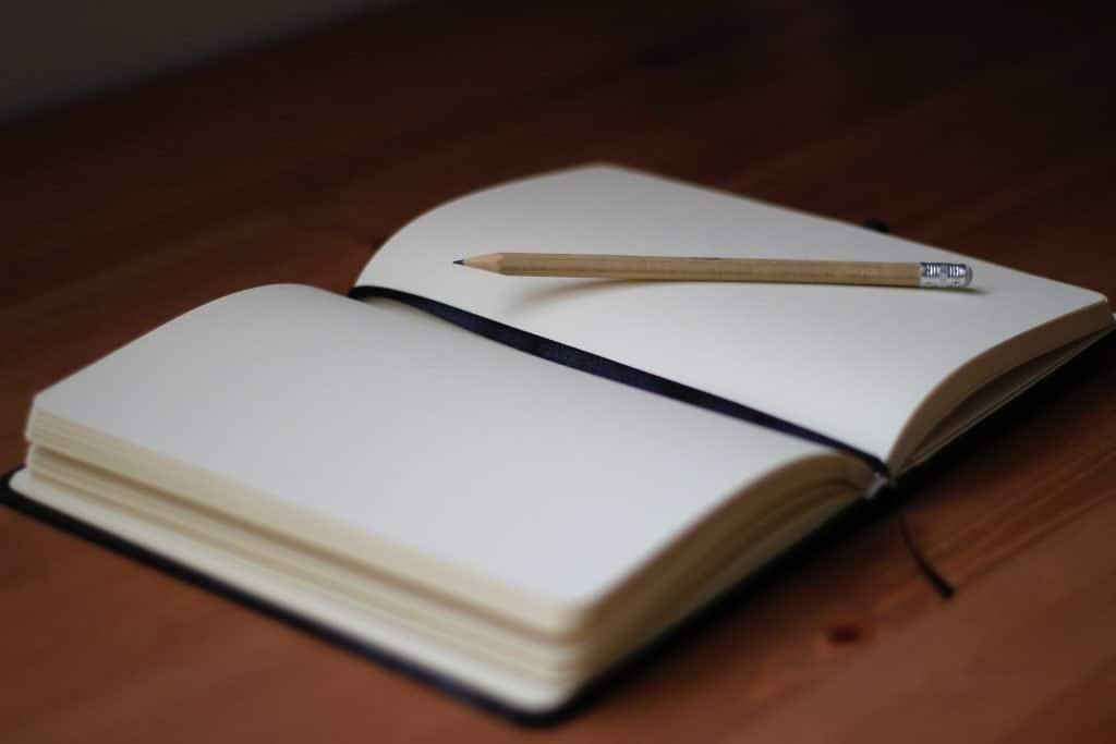 Bedtime routine for a peaceful night's sleep - Write in a journal