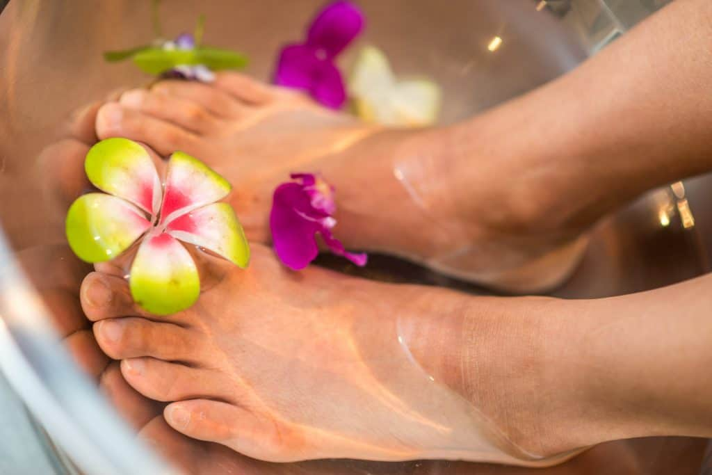 12 Tips To Create An Indulgent Spa Experience At Home - Pedicure