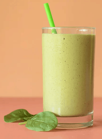 Smoothie Recipes To Boost Your Fruit & Veg Intake - Spinach Banana Berry Smoothie