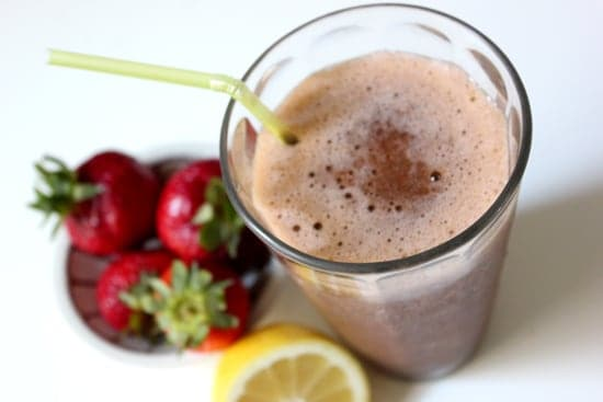 Smoothie Recipes To Boost Your Fruit & Veg Intake - Strawberry Lemonade Smoothie