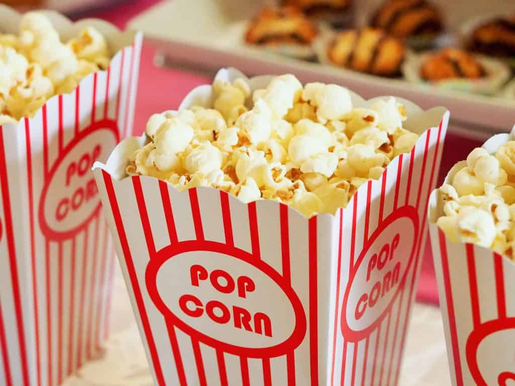 Popcorn for my favorite girly movies